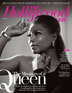 Queen Latifah The Hollywood Reporter August 2013