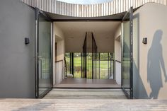 D House, even without really getting into the finer details and the many eco-friendly features that it boasts. Designed by UN Studio… Interior Design Magazine, Un Studio, Dutch House, Home Automation System, D House, Eco Friendly House, Outdoor Living Areas, Interior Architecture, House Design