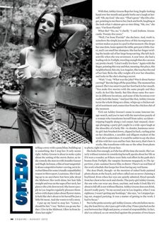 Ashley Greene Esquire US August 2012