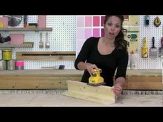New video by @Ana White - How to Sand Furniture Before Painting with Palm Sander #anawhite #DIY #PureBond