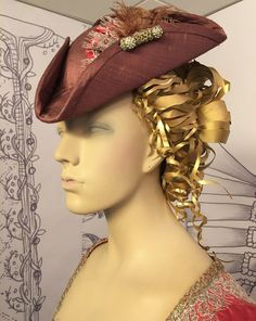 God is in the Details. Rococo, How To Make Fascinators, Terry Dresbach, Scottish Clothing, 18th Century Costume, Dragonfly In Amber, Bonnet Hat, 18th Century Fashion, Movie Costumes