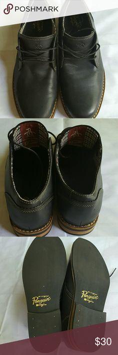 Original Penguin Waylon Oxford Shoe size 11.5 Original Penguin Men's Waylon Oxford Shoe size 11.5 Dark Brown In very good condition penguin Shoes Oxfords & Derbys