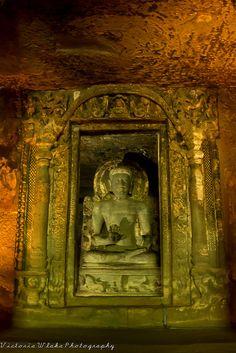 Buddha Statue - Ajanta Cave