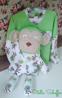 TOQUE DE ARTE BY STELLA SCHEFFER: Pijama Infantil