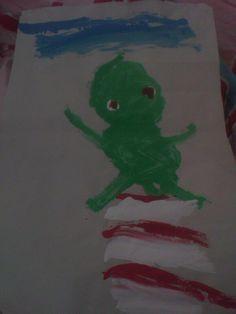 Dit heeft me broertje gemaakt van kikker