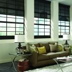 "Serena Motorized Solar Roller Shades, 36"" x 60"", Custom"