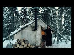 Canvas Tent With A Woodstove- This is what it's all about!! - YouTube///( THINGS I LOVE !!!/ CAMPING IN THE WILDERNESS IN WINTER !!!/ ITS BEEN A WHILE ...)///