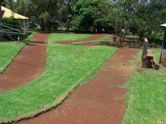 build rc track backyard - Google Search