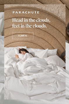 Linen Bedroom, Bedroom Sets, Home Decor Bedroom, Master Bedroom, Linen Comforter, Bedrooms, Dream Home Design, House Design, Do It Yourself Home
