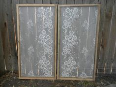 Wallmarks: More Lace Window Screens