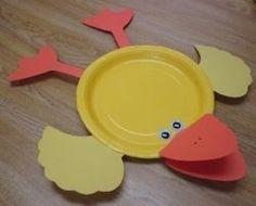Squish Preschool Ideas: April --Showers Ducks Such
