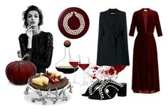 Let's have a wine party with your close friends for celebrating halloween weekend. Wine Party by tmrw-studio on Polyvore featuring #LUISABECCARIA #AliceOlivia #Chanel #ArthurCourtDesigns #tmrwstudio #tmrwstudionyc #newyork #nyc #halloween #party #wineparty #friends #celebration #weekend #friday #burgundy #wine #velvetdress #capejacket #chic #exclusive #luxurioius #stylish #fashionable #fashionista #suedeheels #pearlshoes #shoes #pearlnecklace #halloweenpumpkin #dressy #ootd #polyvore…