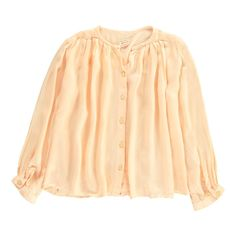 Morley Button-Up Ear Blouse Pale pink