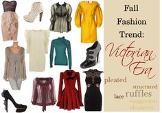 """""""Fall Fashion Trend: Victorian Era"""" by ltretail on Polyvore"""