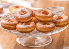 This is the perfect Hungarian doughnut! Hungarian Desserts, Hungarian Cuisine, Hungarian Recipes, Hungarian Food, Croatian Recipes, Donut Recipes, Doughnuts, Sweet Recipes, Gem