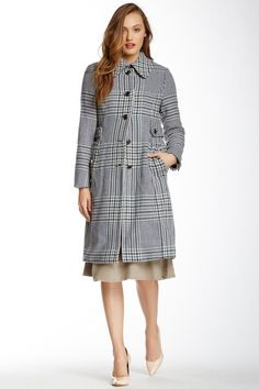 Virginia Wool Blend Coat by Tory Burch on @nordstrom_rack