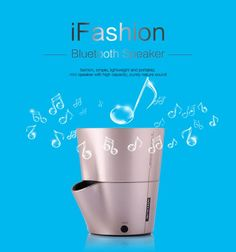 NILLKIN S-BTI1 iFashion Mini Portable Wireless Bluetooth V3.0 Speaker w/ Mic / AUX - Gold - From 24,95 for Euro 19,25