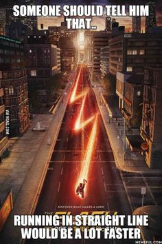 Show off. Just like the Flash to do that.