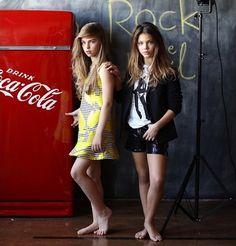 Laneya Grace y Jade Weber, hermosas modelos infantiles - Taringa!