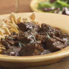 Braised Beef & Mushrooms -- the tender, slow-cooked beef absorbs the wonderful taste of the mushrooms, which completely permeate the sauce. Saute in olive oil, and use 3 pounds of beef to serve 12. Works for D-Burn (use shiitake mushrooms) and Phase 3. Omit the tomato paste for P2 (use stew meat, saute in broth) and H-Burn (season with oregano and dill).