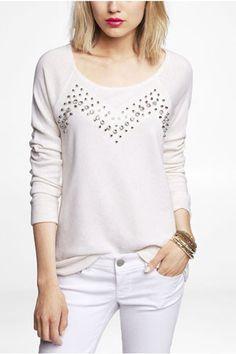 12+Comfy-Chic+Jeweled+Sweatshirts+#refinery29+http://www.refinery29.com/embellished-sweatshirt#slide-4