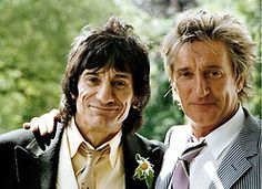 Rod Stewart to Be One of Three Best Men for Ron Wood