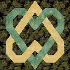 Celtic knot quilt