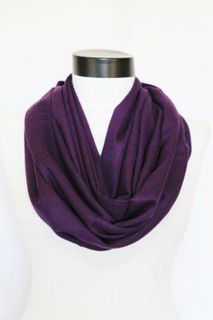 purple  Infinity  pashmina scarf by salihadilber on Etsy, $15.50