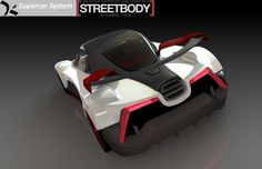 [LAYERED] 500 Group Supercar - STEP / IGES, SOLIDWORKS - 3D CAD model - GrabCAD