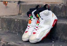 wholesale Authentic Air Jordan 6 Hare Custom Basketball Shoes 0895e1067