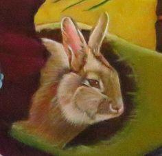 Rabbit, Canvas, Animals, Bunny, Tela, Rabbits, Animales, Animaux, Bunnies