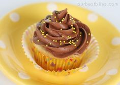 """One of the most popular recipes on Our Best Bites is this flour frosting. Its velvety smooth texture combined with the not-so-sugary bite is perhaps the perfect thing on top of almost any cake or cupcake. If you read through the comments you'll see that one of the most commonly asked questions is """"Where's the chocolate version??!!"""" Kate and I experimented a lot with adding chocolate to that recipe without much luck. We came up with a lot of things …"""