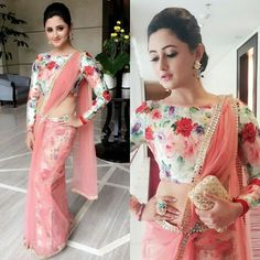 Bored of Wearing Traditional Blouses? Do Not Miss These Trendy Boat Neck Blouse Designs - Latest & Trendy Boat Neck Blouse Designs – Top Boat Neck Patterns - Blouse Designs High Neck, Sari Blouse Designs, Fancy Blouse Designs, Latest Blouse Designs, Blouse Patterns, Sari Bluse, Latest Saree Blouse, Saree With Long Blouse, Bollywood