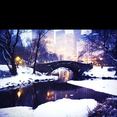 Central Park. It is now one of my most favorite places in the world!