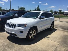 My Brand New 2016 Jeep Grand Cherokee Overland!
