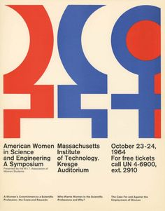 Jacqueline Casey, American Women in Science and Engineering. A Symposium, Massachusetts Institute of Technology, Kresge Auditorium, October 23-24, 1964