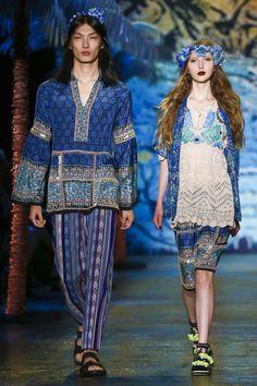 Anna Sui Ready To Wear Spring Summer 2016 New York - NOWFASHION