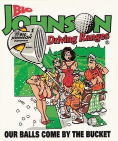 76b88dcf Big Johnson T Shirts, Golf Sales, Driver, Golf Slice, Golf Magazine,