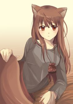 Spice and wolf wolf form - photo#27