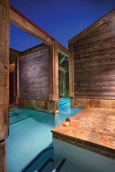 Japanese Baths at Ventanna Inn and Spa.