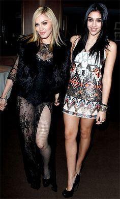 Madonna and daughter Lourdes Leon.