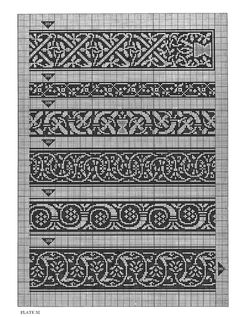 ru / Фото - Celtic Charted Designs - knitting-these could be bookmarks I think. Celtic Cross Stitch, Cross Stitch Borders, Cross Stitch Charts, Cross Stitching, Cross Stitch Embroidery, Cross Stitch Patterns, Blackwork Embroidery, Embroidery Patterns, Fair Isle Knitting Patterns