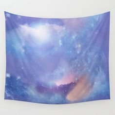 Fantasy Sky Wall Tapestry by Laureenr
