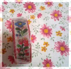 MT Ex tape sweet flowers washi tape