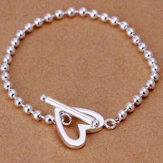 ✨ Very Pretty Timeless Heart Bracelet ✨ ✨ Very Pretty Timeless Heart Bracelet ✨                        ✨Sterling Silver Plated with 925 Stamp ✨ Jewelry Bracelets