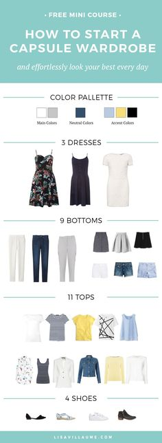 Ever wanted to have a Capsule Wardrobe but don t know where to start Join the FREE mini-course and learn how to effortlessly put together an outfit and easily grab an outfit and go in the mornings. Corporate Wear, Presents For Her, Minimalist Wardrobe, Capsule Wardrobe, Mom Wardrobe, Get Dressed, Work Wear, What To Wear, How To Look Better