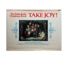 Tasha Tudor Christmas Book Take Joy! Vintage Songs Stories Family Christmas Illustrated Collins Publishing Collectible Xmas Book by PlumsandHoney on Etsy