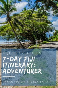 Less Traveled Island Getaways - Fiji isnt just about beautiful beaches - take the road less travelled on our Ultimate Adventurer Fiji Itinerary! - Discover these less traveled islands on your next vacation getaway Travel To Fiji, Asia Travel, Travel Tips, Travel Guides, Krabi, Bora Bora, Tahiti, Dream Vacations, Vacation Spots