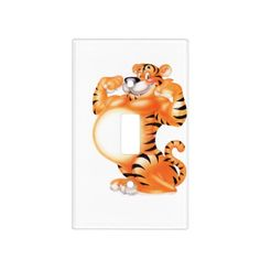 bold tiger switch plate cover