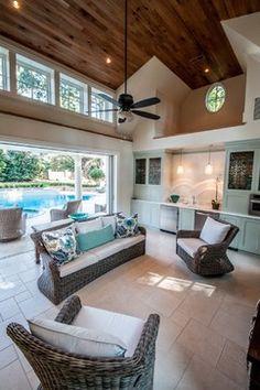 Outdoor Design Ideas | Pool House